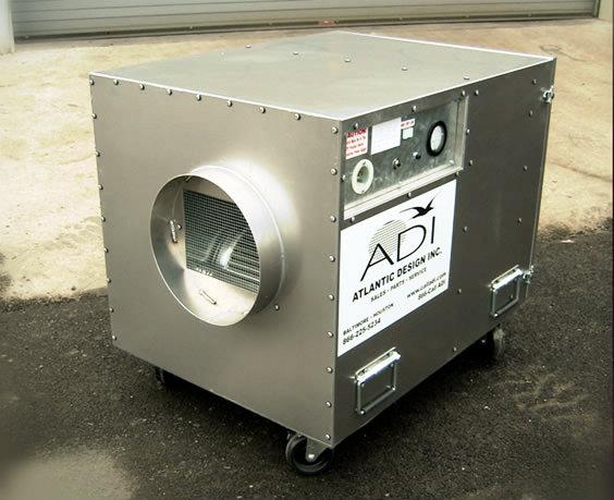 what is a negative air machine