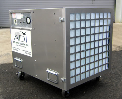 negative air machine rental